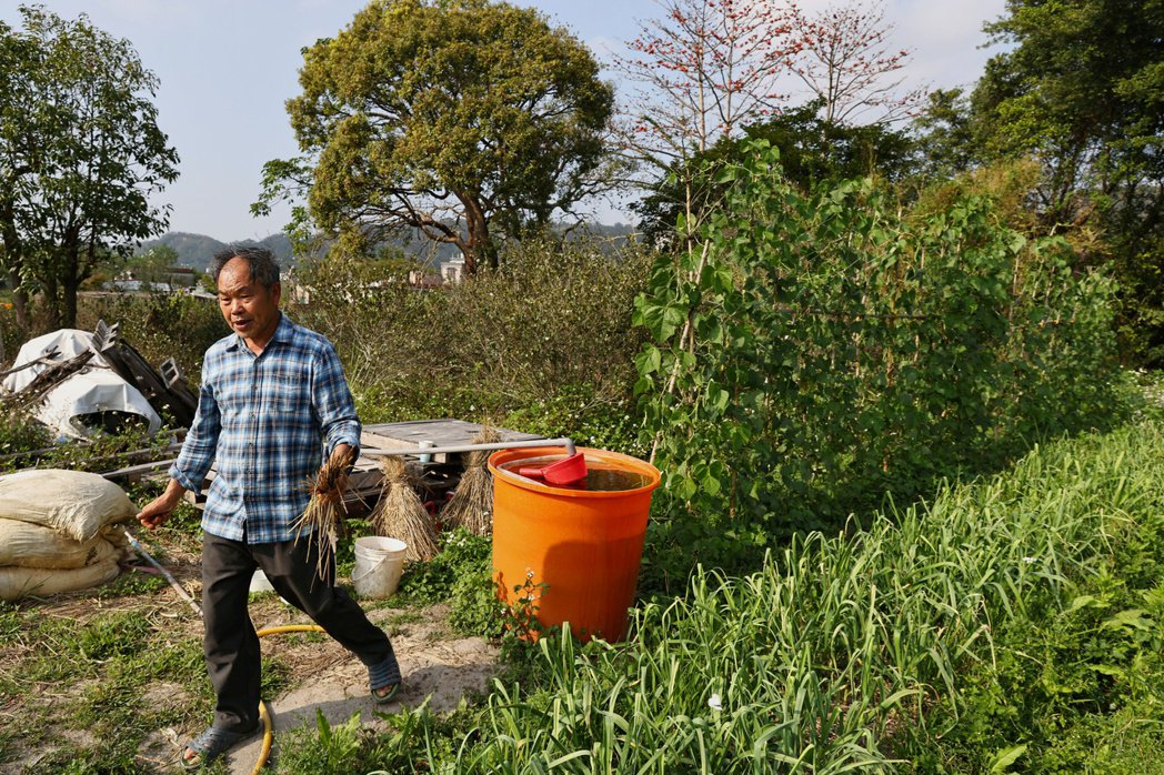 台灣農田水利先賢所留下的制度,雖然人人都難以滿足,卻可共度難關。 圖/路透社