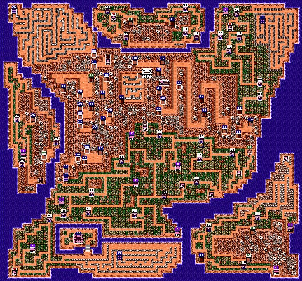 進行冒險的島嶼本身就可說是個路線複雜的大型迷宮了。