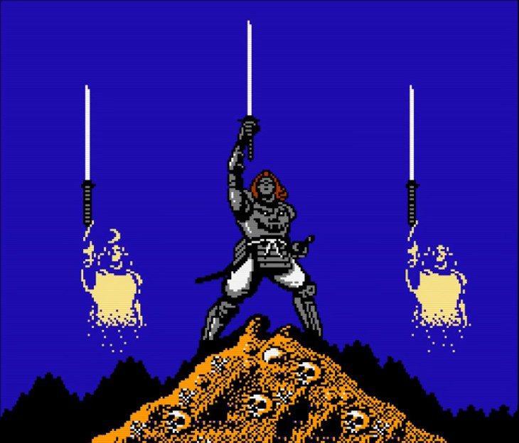 收集到三把波動劍並且順利打倒最終BOSS龍骨鬼之後,就能讓戰死的兩位兄長英魂得以...