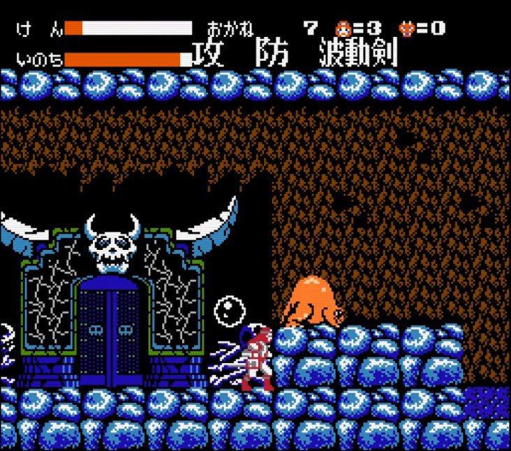 這種看似陰曹地府鬼門的背景,也很常在2D關卡裡面出現。