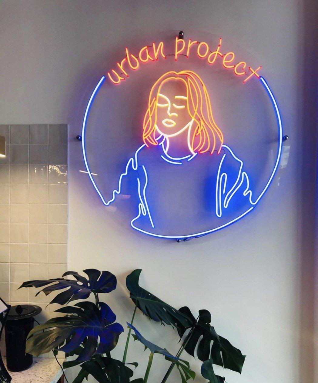 位於迪化街北段的時髦「洗衣咖啡店」Urban Project,老闆娘是韓國首爾留...