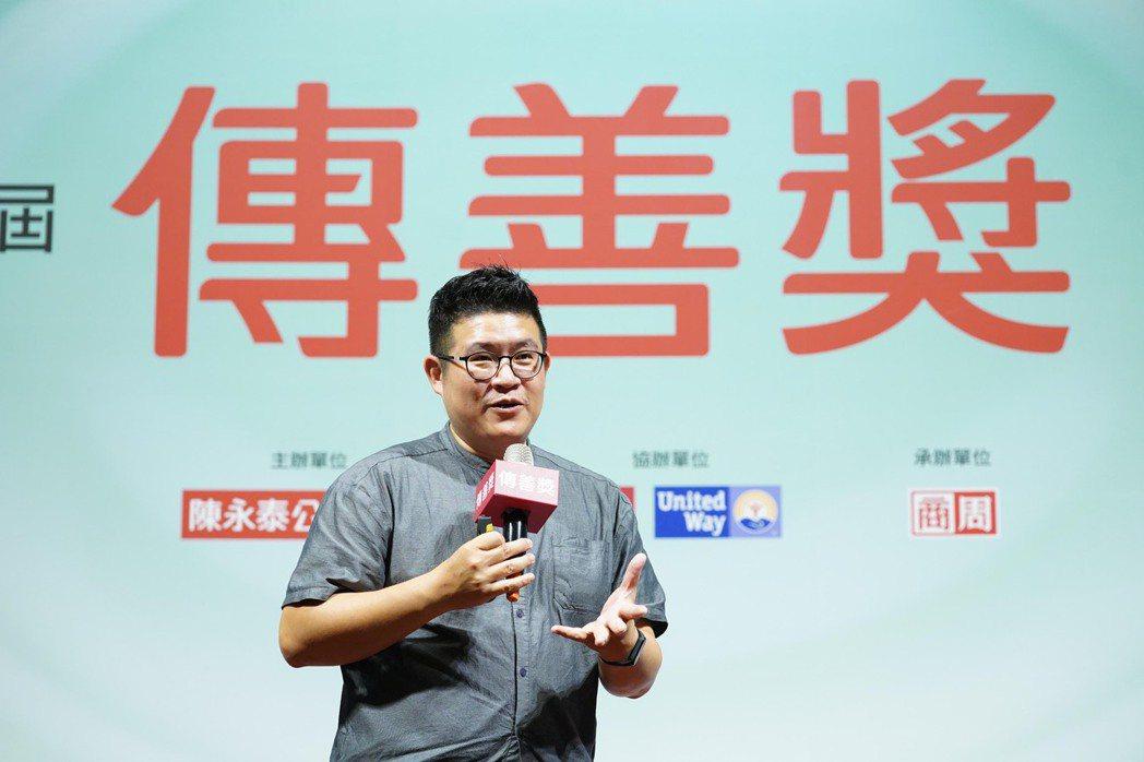 5% Design Action 社會設計平台楊振甫執行長帶來專題演講「服務設計...