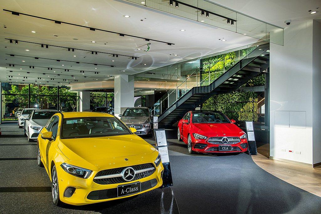 中華賓士內湖全功能據點更是台灣首座由Mercedes-Benz原廠指定之德國設計...