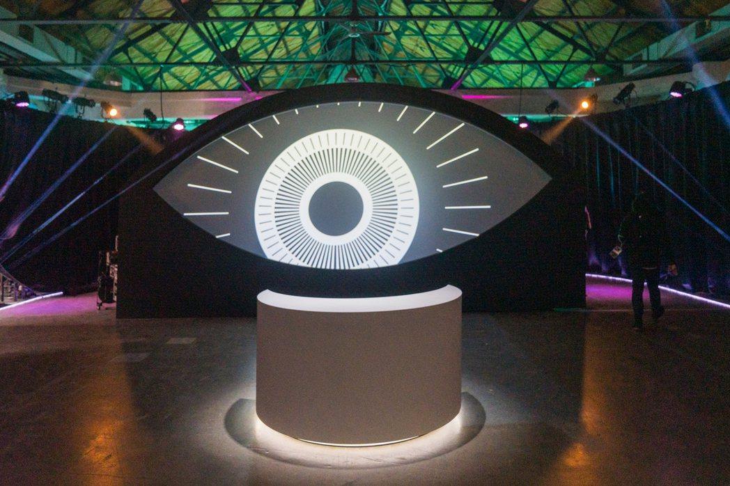 主題館「相信律」入口場景。 圖/台灣設計研究院提供