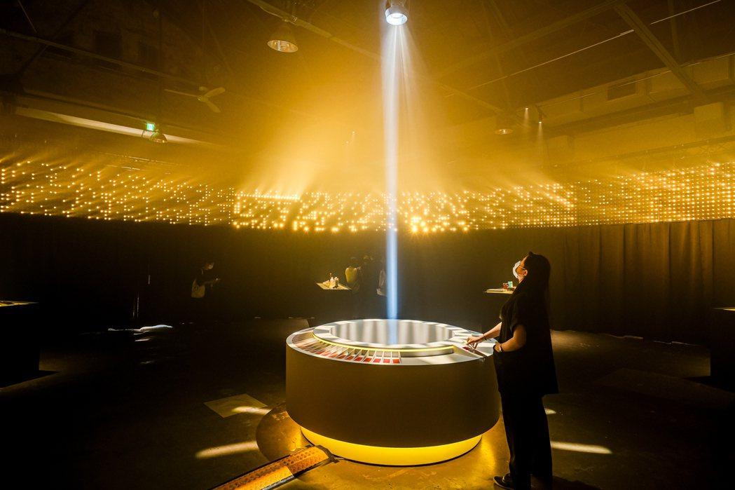 主題館「相信律」光明神殿。 圖/台灣設計研究院提供