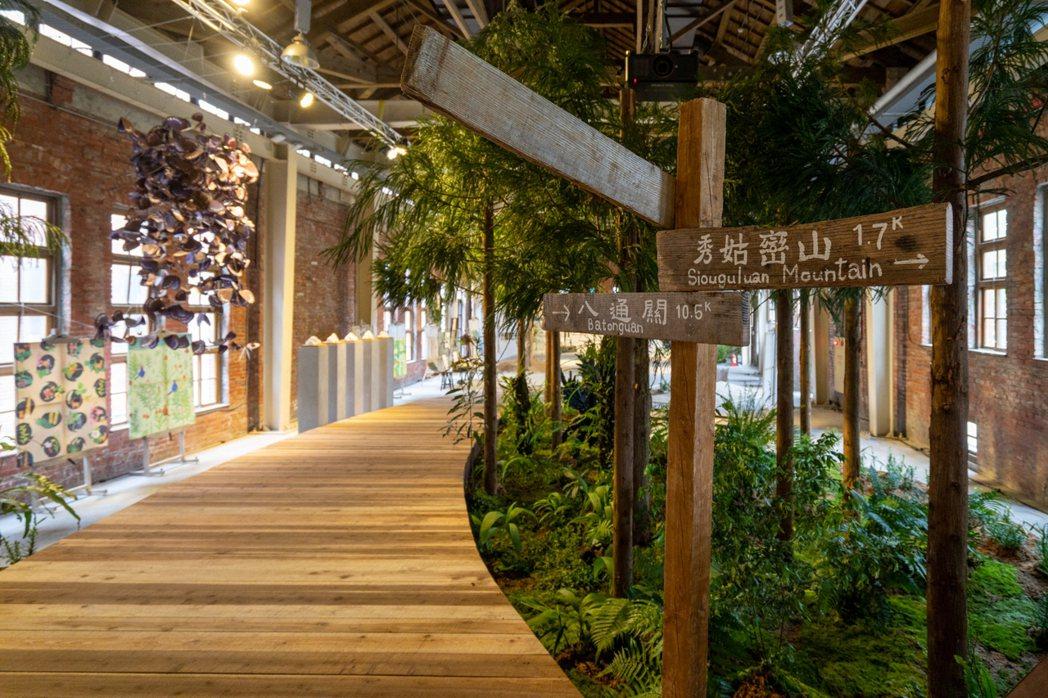 地方總論館「北回朝聖路」。 圖/台灣設計研究院提供