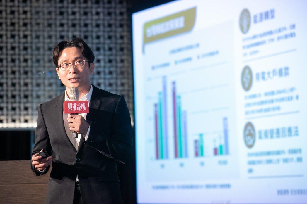 力暘能源資深協理林國輝分享企業如何融入ESG概念。