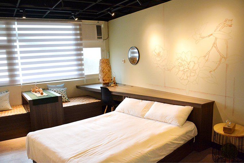 世界茶花公園地方創生設計房。 中華大學/提供