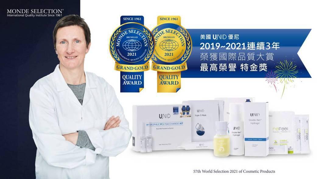瑞崎生醫研發的5項產品皆榮獲「2021國際品質評鑑大賞」最高榮譽。瑞崎生醫/提供