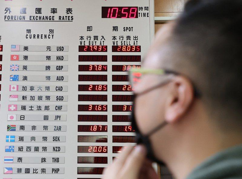 美國財政部今(16)日公布匯率報告,未點名任何貿易夥伴為匯率操縱國,即使瑞士、台灣和越南已達到被貼上該標籤的門檻。 報系資料照