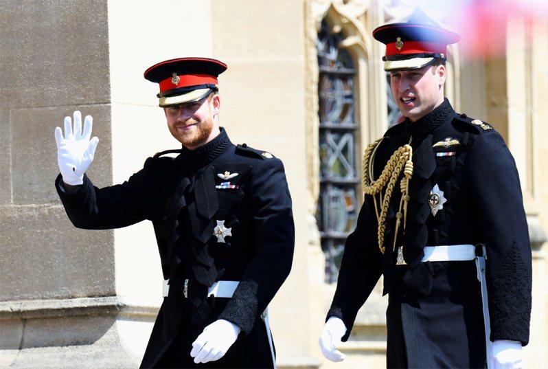 英國菲立普親王葬禮將於本週末舉行,威廉與哈利王子過往並肩同行的畫面,將不會在祖父的葬禮中出現。路透