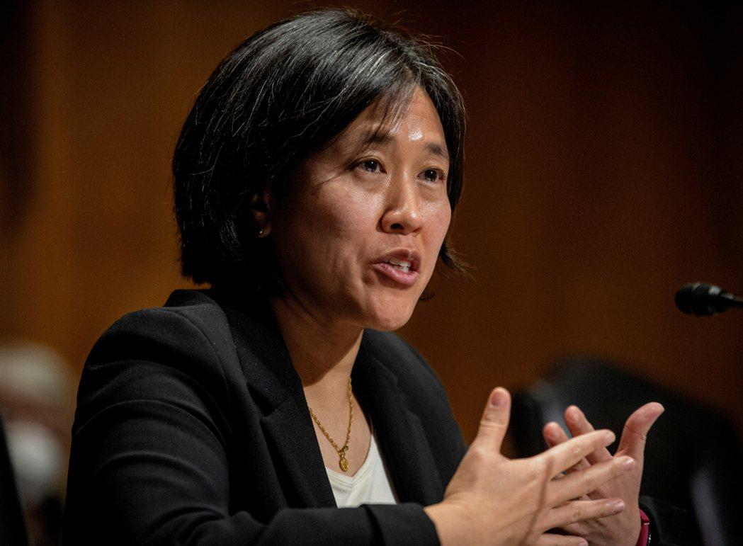 美國貿易代表戴琪(Katherine Tai)。 路透社
