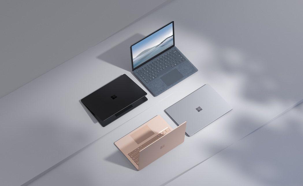 微軟發表全新Surface Laptop 4,行動性、易用性、強大效能和企業級安...