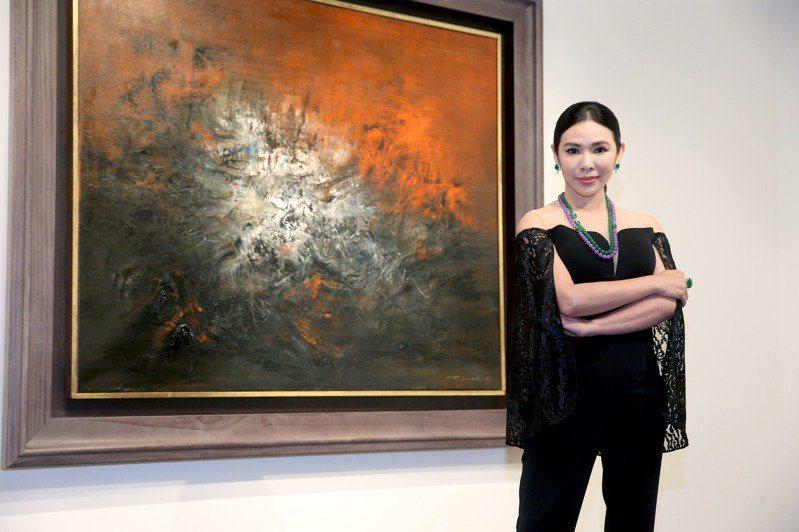 京倫集團總裁妻子胡白玫。圖/聯合報系資料照片