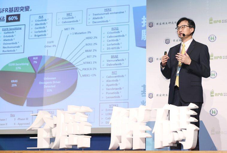 2021癌症高峰論壇於3月27、28日完美落幕,高雄長庚醫院肺癌團隊召集人王金洲...