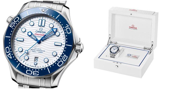 表款將具備特製收納的奧運會表盒,內含這腕表、大師天文台認證卡,以及5年保固卡。圖...