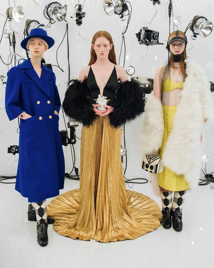 GUCCI發表為慶賀百周年而打造的「時尚詠嘆調」大秀。圖/GUCCI提供
