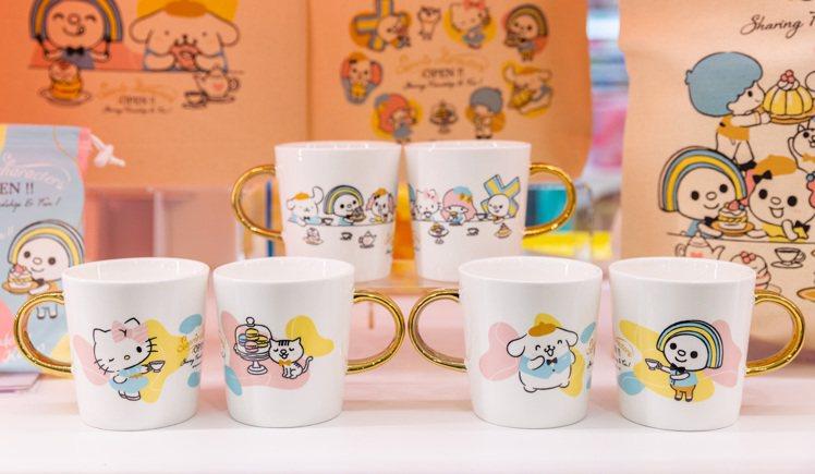 7-ELEVEN台南「OPEN! X Sanrio三麗鷗聯名主題店」限定販售的O...