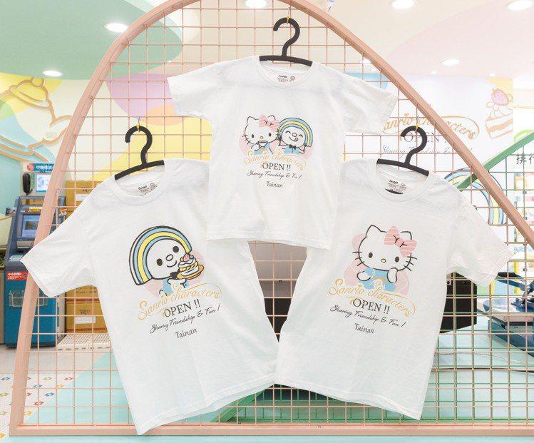 7-ELEVEN台南「OPEN! X Sanrio三麗鷗聯名主題店」可現場客製化...