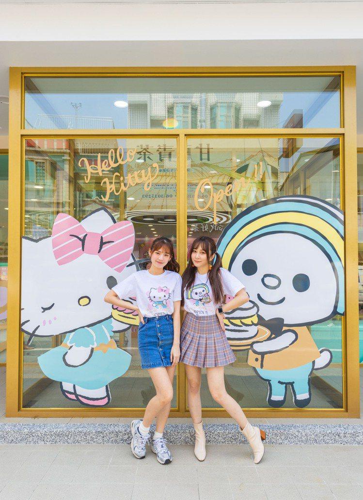 7-ELEVEN台南「OPEN! X Sanrio三麗鷗聯名主題店」處處都可拍網...