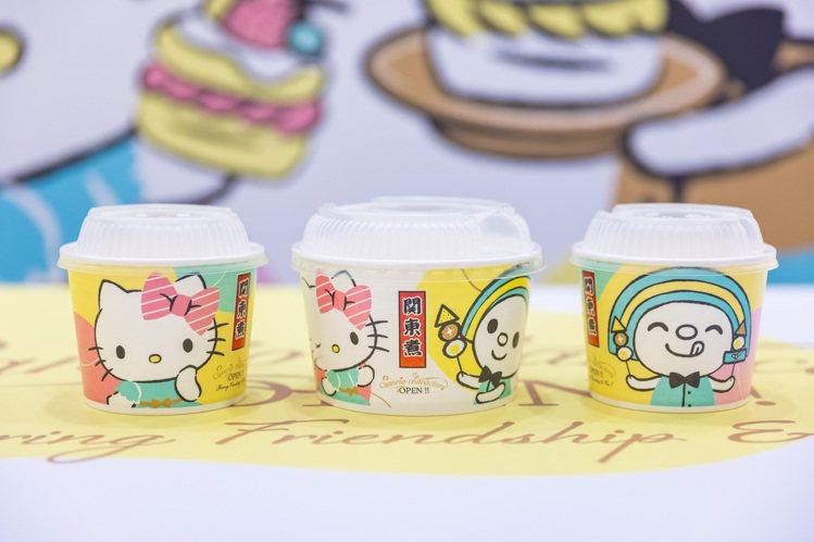 7-ELEVEN台南「OPEN! X Sanrio三麗鷗聯名主題店」聯名關東煮碗...