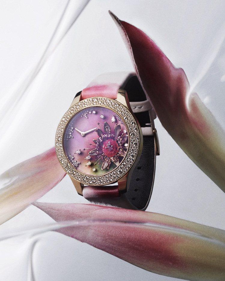 Dior Grand Soir Aquarelle腕表,價格電洽。圖/DIOR提...