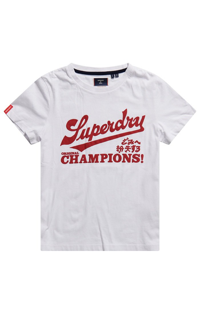 SUPERDRY ORIGINAL & VINTAGE系列女裝T恤1,180元。...