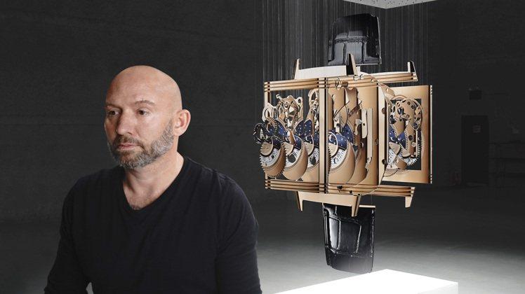 Jaeger-LeCoultre委託美國藝術家Michael Murphy創作了...