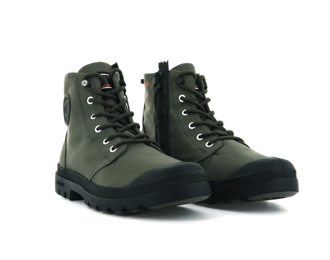 Palladium橘標防水RCYCL LT+Z系列靴3,580元。圖/Palla...