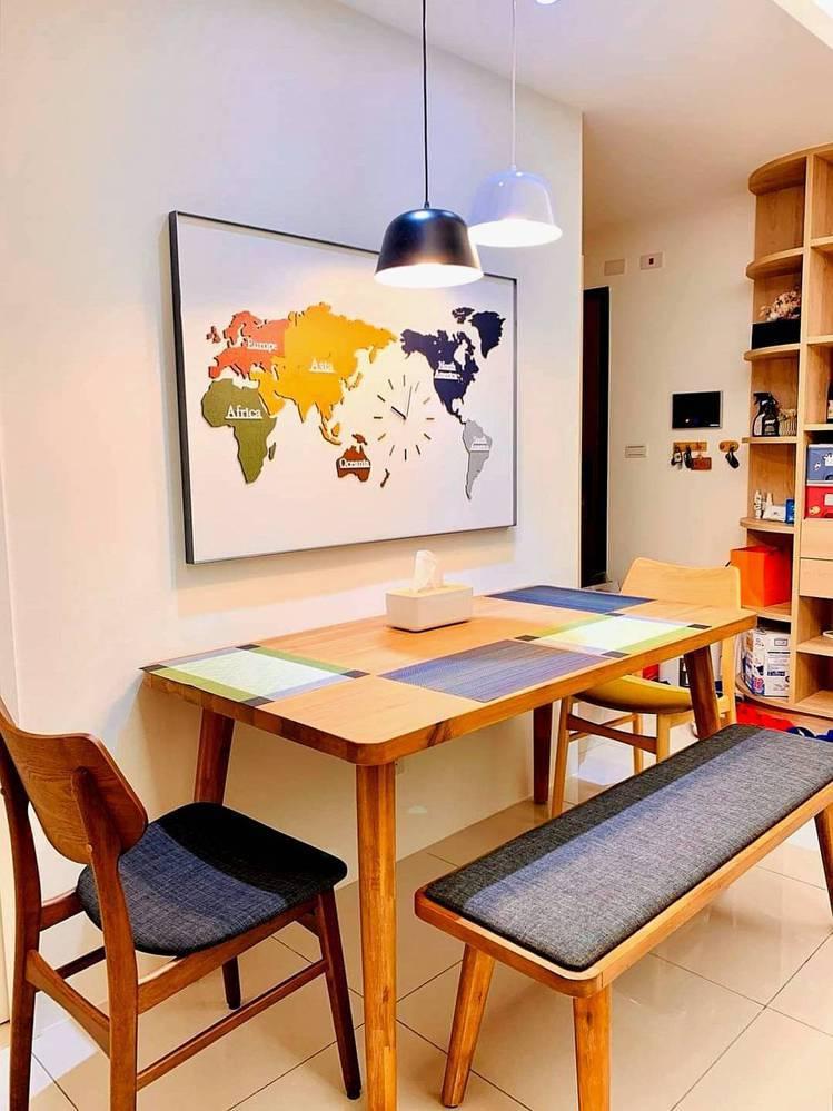 選對燈,能讓居家氛圍更溫暖。圖/時光燈飾提供