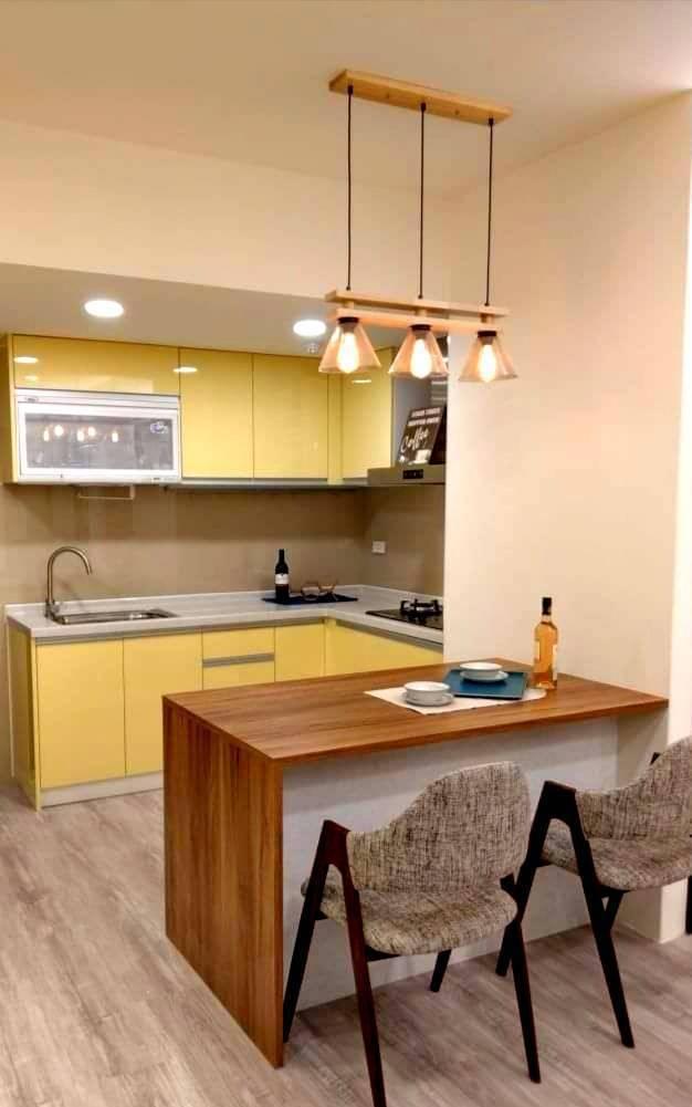 空間大小、挑高,居家氛圍,都是挑選燈具的關鍵考量。圖/時光燈飾提供