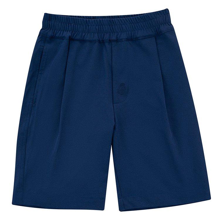 plain-me與中信兄弟職業棒球隊聯名系列抽繩短褲1,880元。圖/plain...