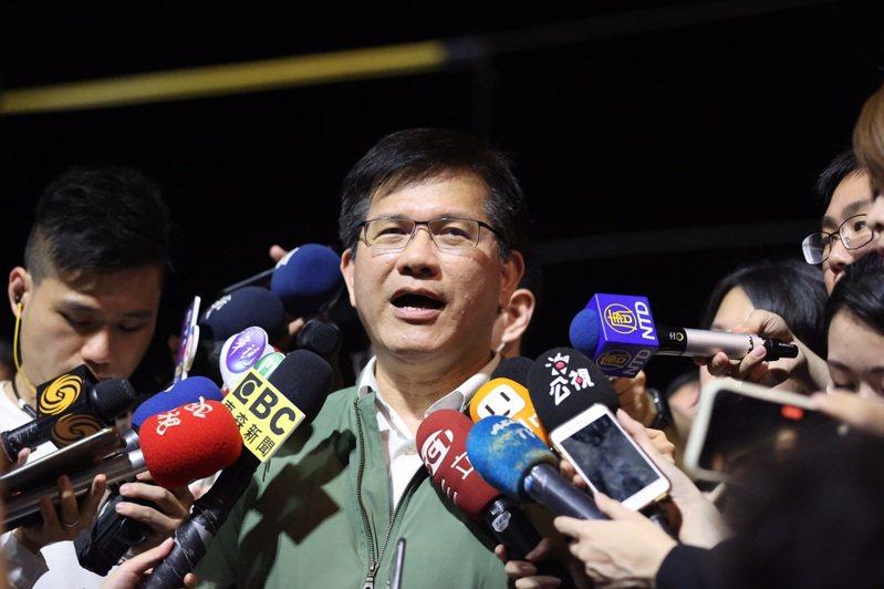 林佳龍雖無心思考下一步,但黨內人士卻對他仍有期待。圖/聯合報系資料照片