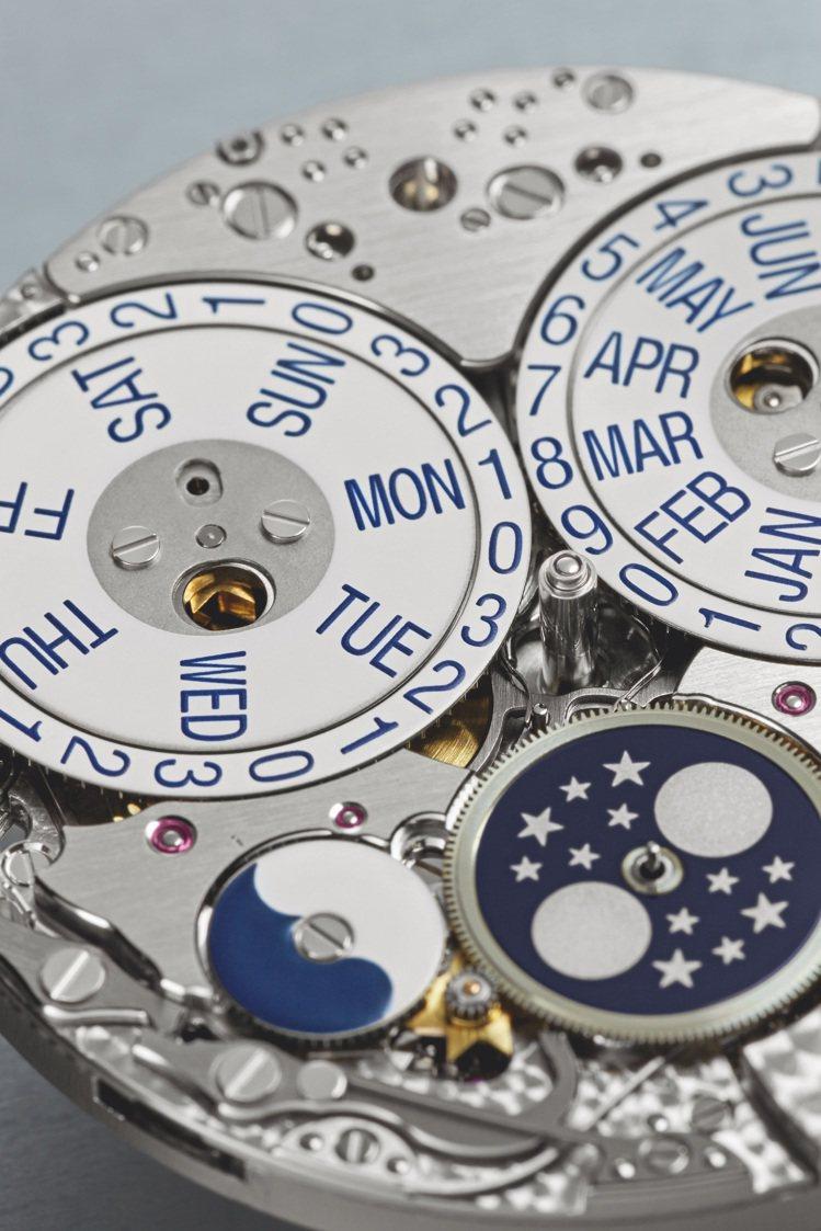 31-260 PS QL自動上鍊機芯。圖/百達翡麗提供