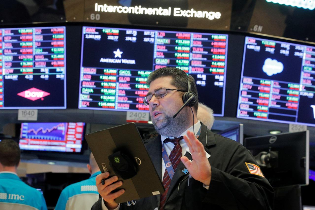 陸Q1經濟勁揚激勵市場信心 美股早盤再創新高