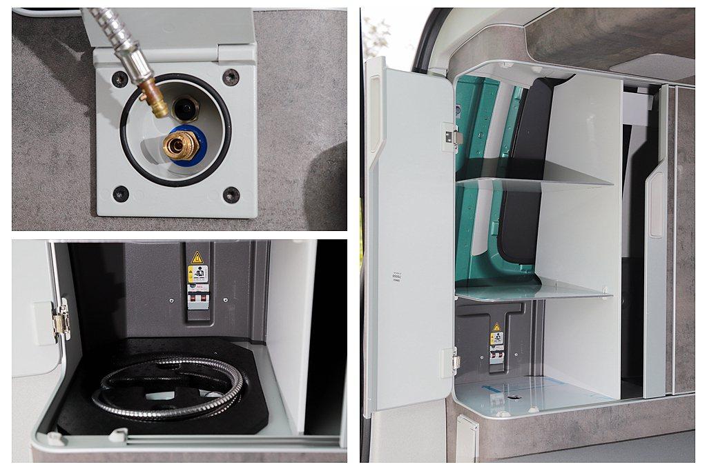 巧思在於!外接式沖洗裝置採用方便且較耐用的快速接頭,且水管跟蓮蓬頭也都有自己專屬...