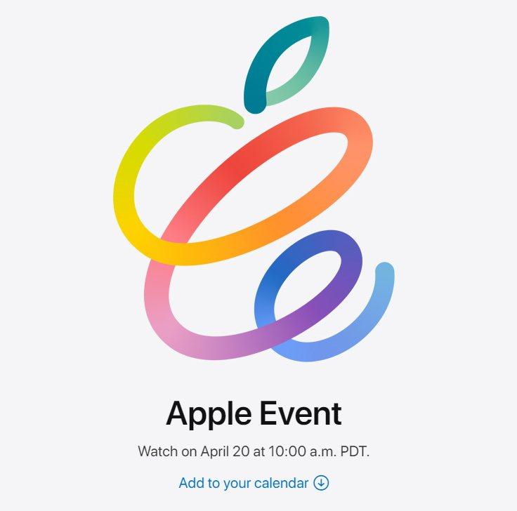 蘋果邀請函。圖/取自蘋果官網