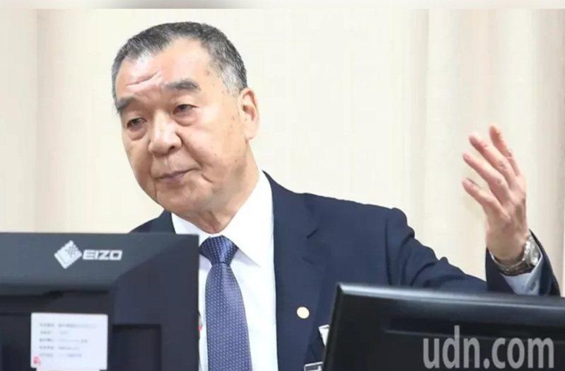 國防部長邱國正今天視導馬祖防務。 聯合報系資料照