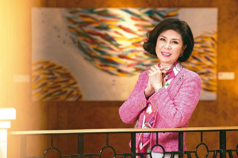 白嘉莉有「最美麗主持人」稱號。記者沈昱嘉/攝影