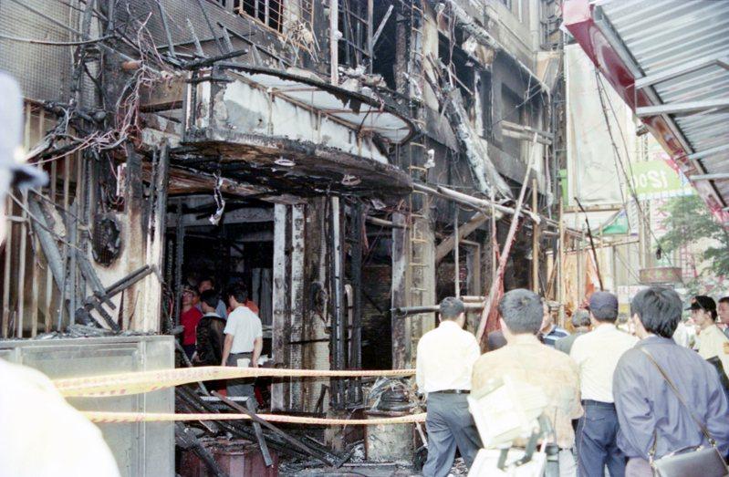 北市24小時自助式KTV「快樂頌」發生火災。圖/聯合報系資料照