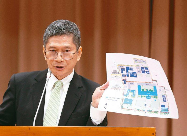 文化部長李永得日前發下豪語說,若8月國際影音未開播,「我提頭來見」。圖/聯合報系資料照片