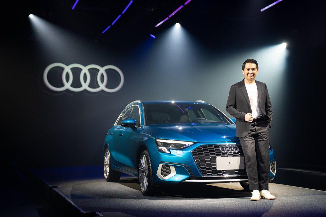 台灣奧迪行銷處長石田英明, 對於今年Audi台灣銷售很有信心。圖/業者提供
