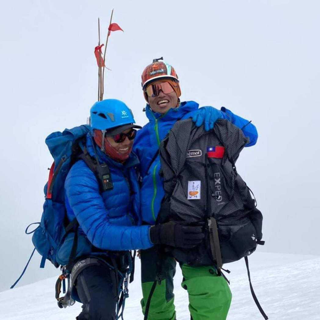 2021年4月16日,台灣攀登者「果果」呂忠翰成功以無氧形式登頂海拔8,091公...