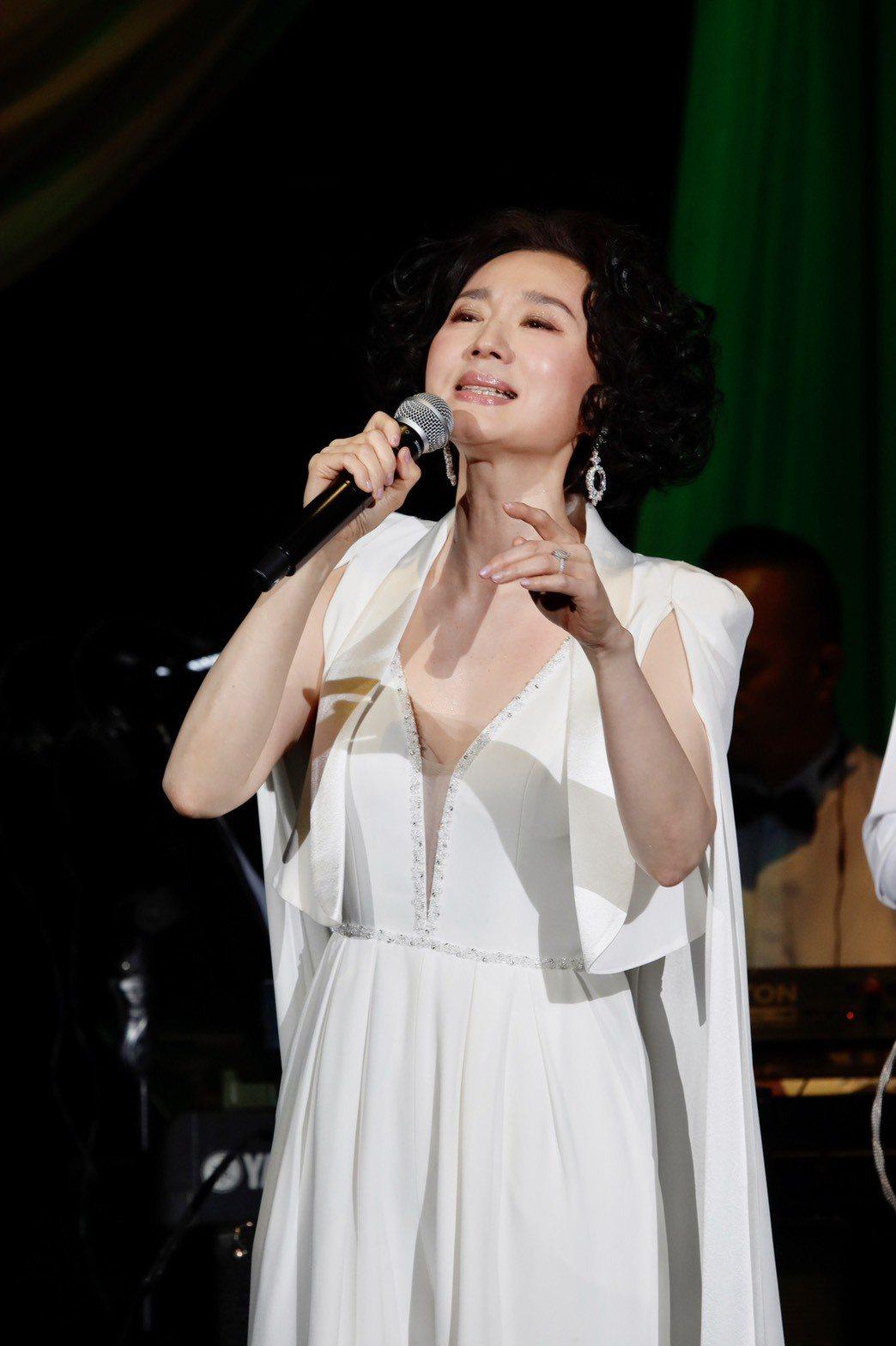 坣娜出道35年,今晚舉辦首場大型個唱。記者李政龍/攝影