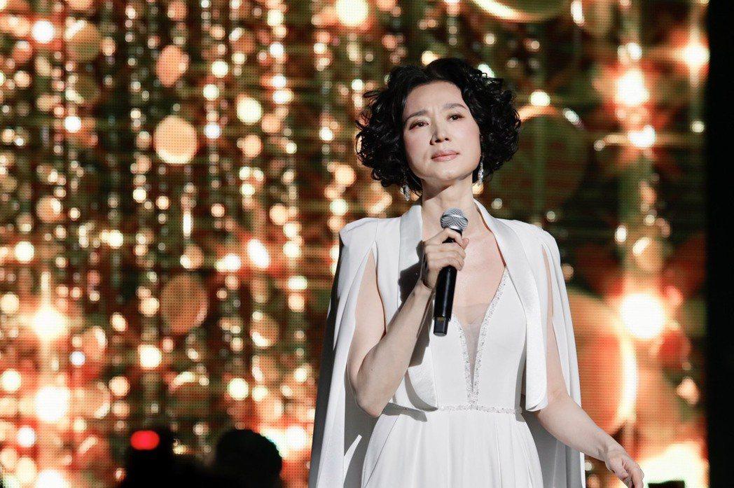 坣娜今晚舉辦首場大型個唱。記者李政龍/攝影