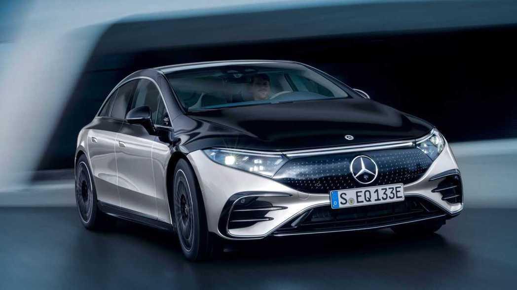Mercedes-Benz EQS。 圖/Mercedes提供