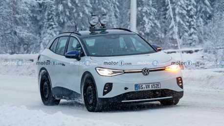 Volkswagen ID.4 GTX即將發表 純電系列首款性能代表!