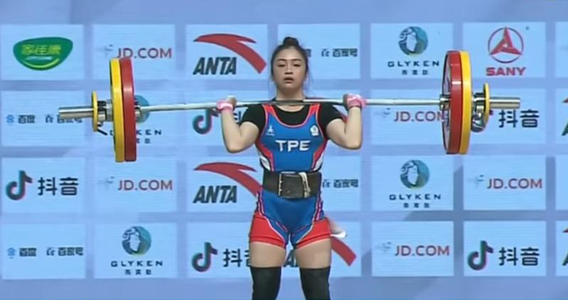 方菀靈參加東奧四十九公斤級女子舉重得到第四名。圖/聯合報系資料照片