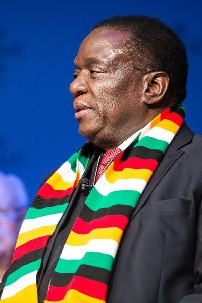 辛巴威總統艾默森·姆南加瓦宣布大赦上千名囚犯,以減少新冠病毒在監獄傳播的風險。(photo by World Economic Forum on flickr under CC2.0)