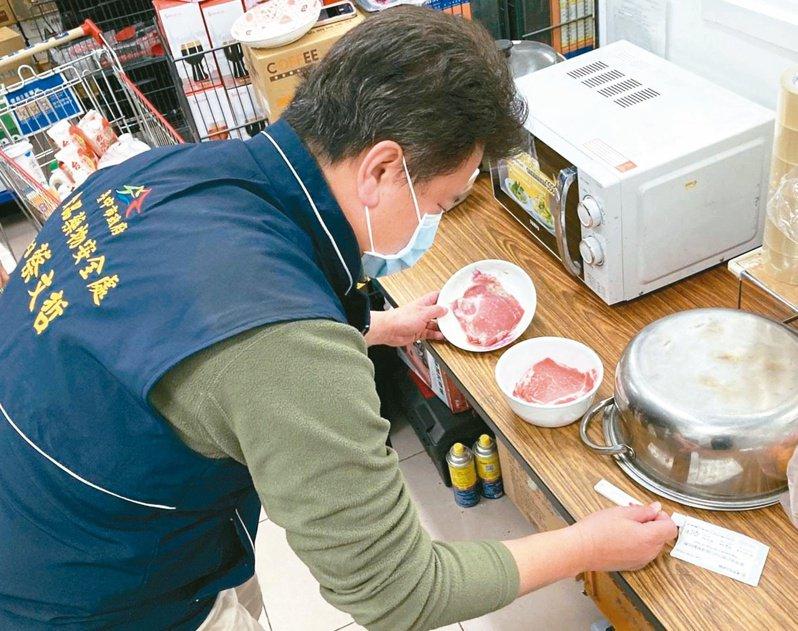 上千噸美豬進口,至今萊劑零檢出。地方政府稽查程度,與民眾食安切身相關。圖/台中市政府食安處提供
